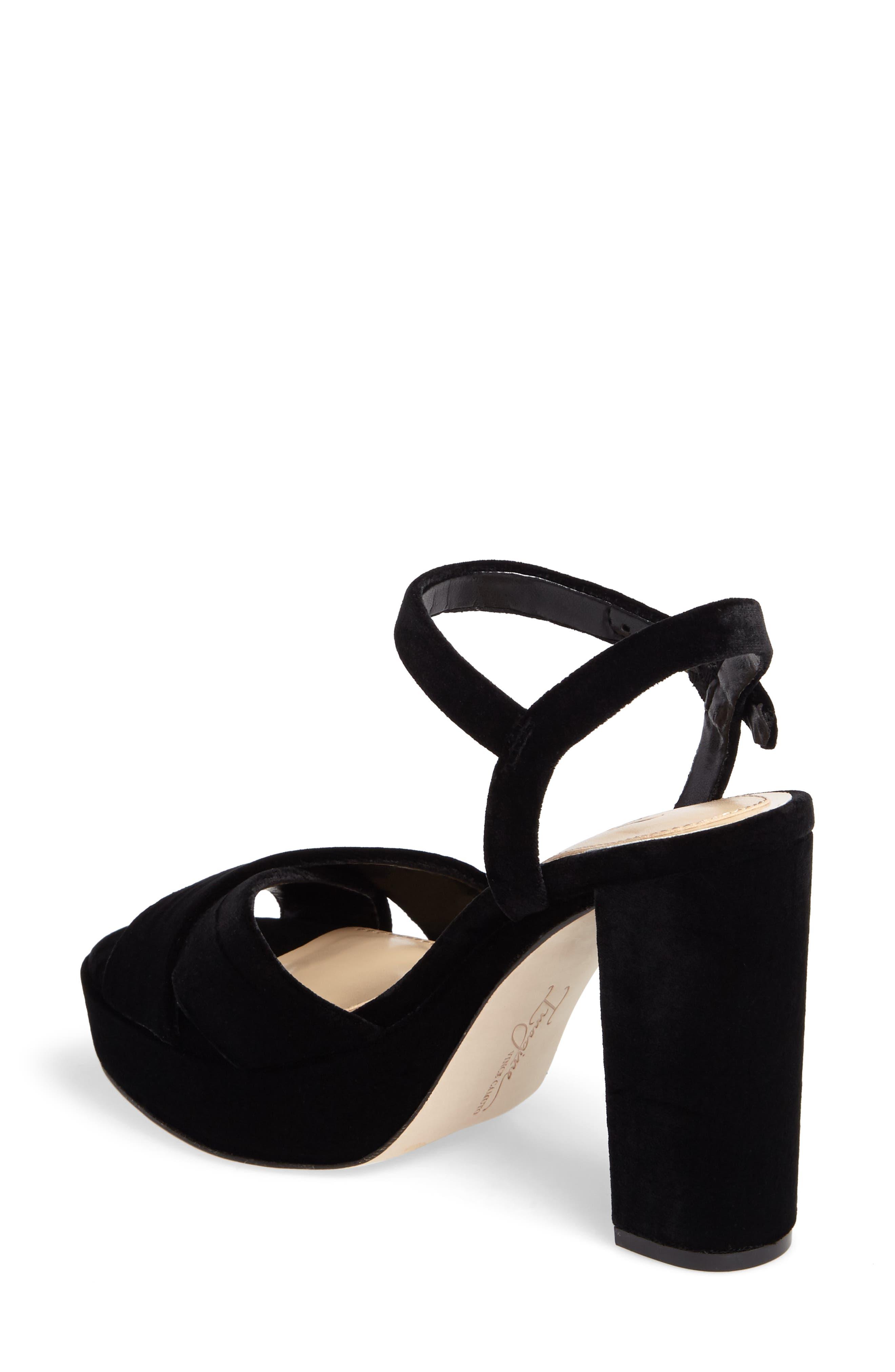 ,                             'Valora' Platform Sandal,                             Alternate thumbnail 8, color,                             003