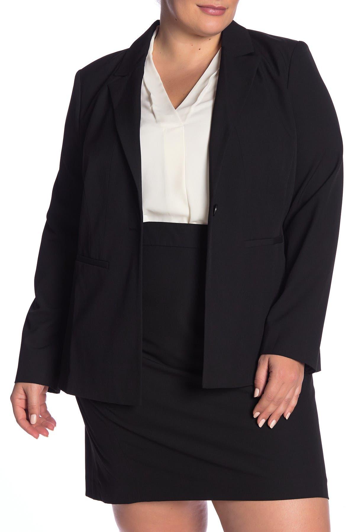 Image of Halogen Ela Notch Collar Suit Jacket