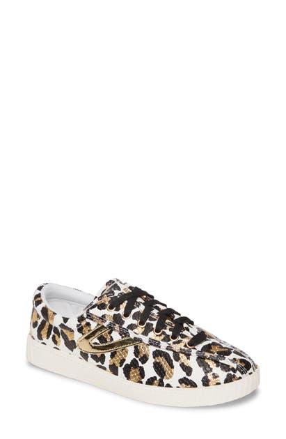 Nylite 34 Plus Sneaker in White Multi Gold