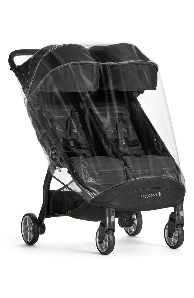 BABY JOGGER City Tour<sup>™</sup> 2 Double Weather Shield, Main, color, CLEAR