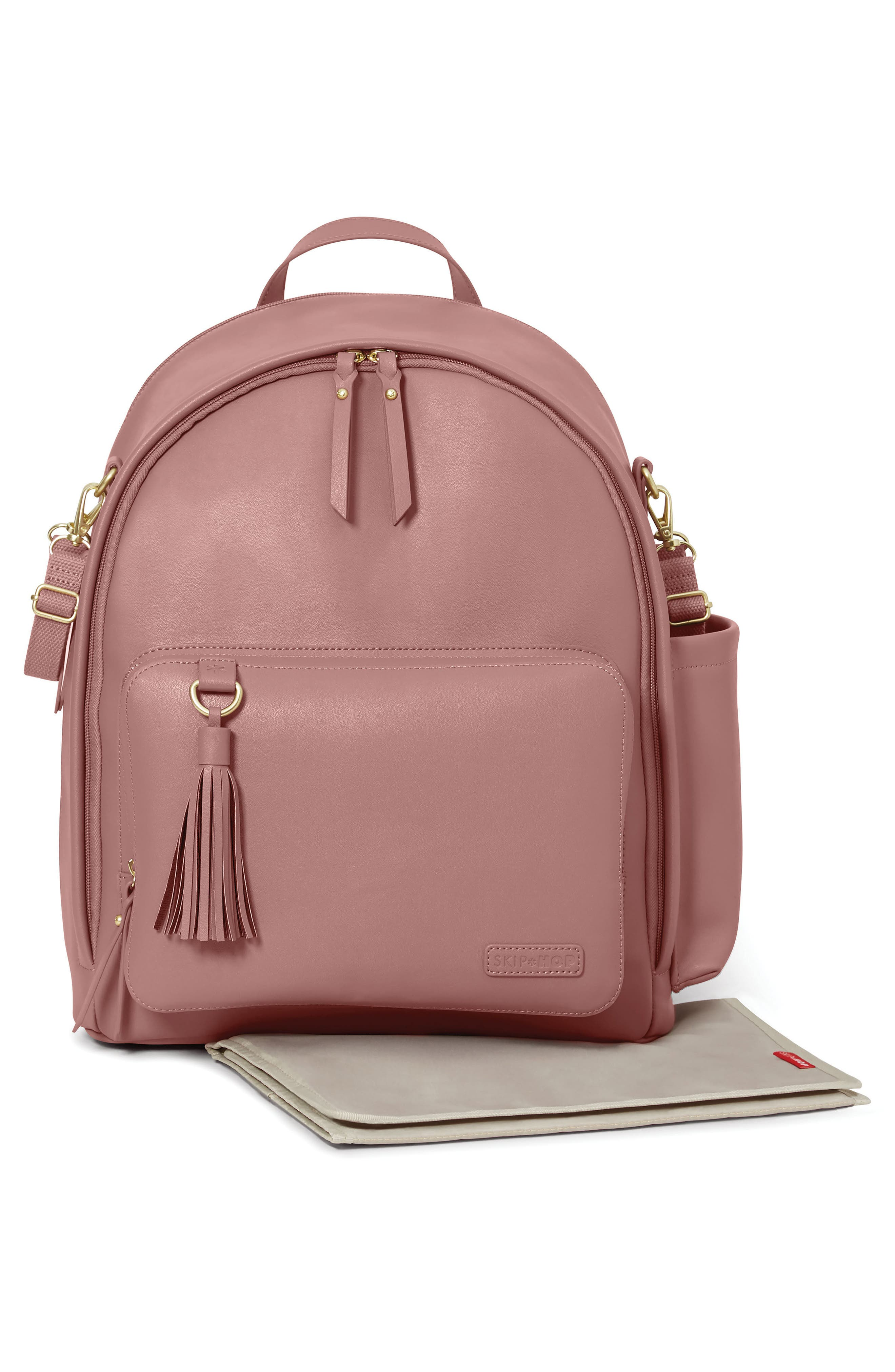 ,                             Greenwich Simply Chic Diaper Backpack,                             Alternate thumbnail 2, color,                             DUSTY ROSE