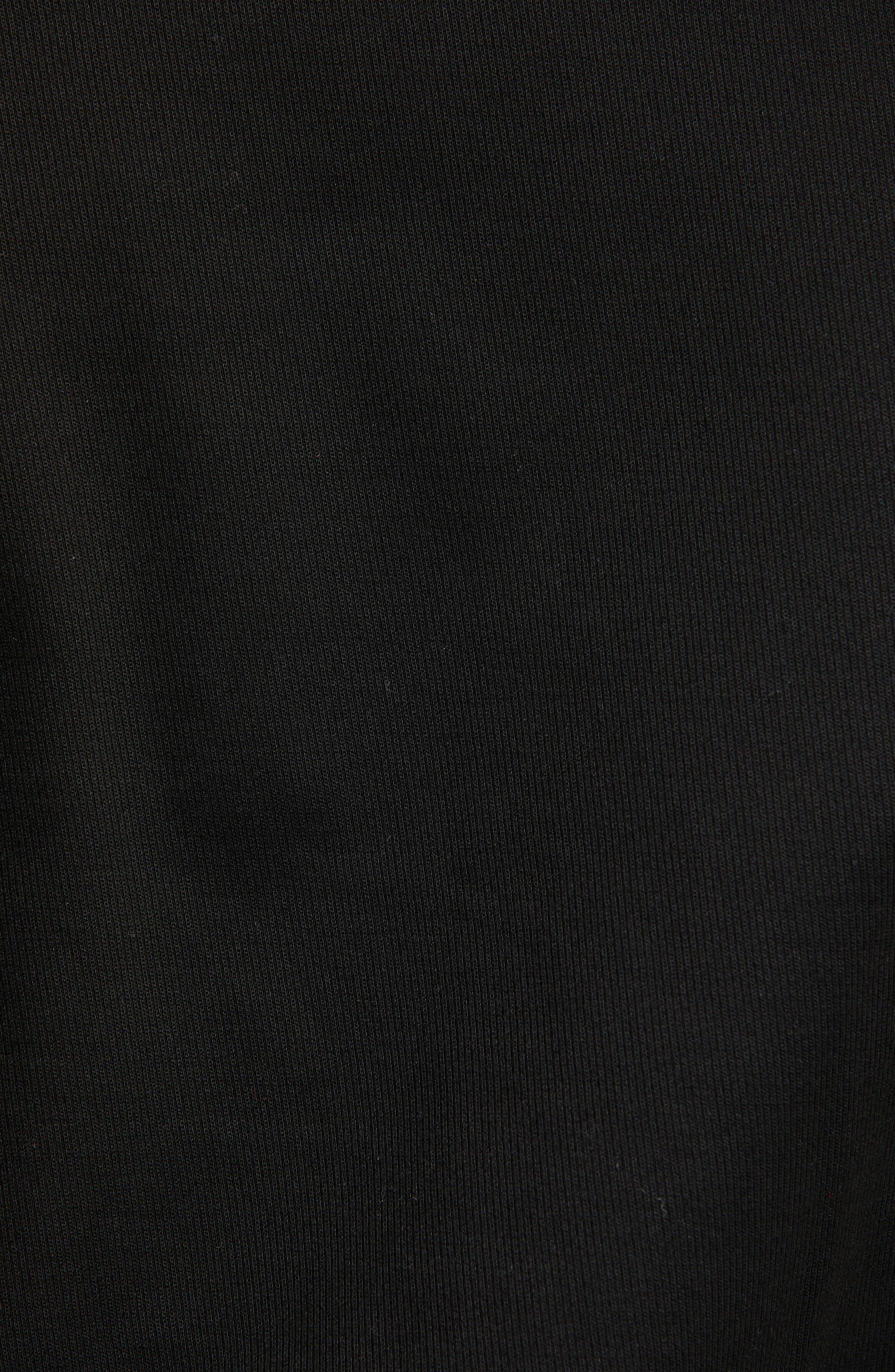 ,                             Woven Bomber Jacket,                             Alternate thumbnail 6, color,                             BLACK
