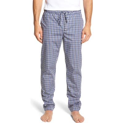 Hanro Night & Day Woven Pajama Pants, Grey