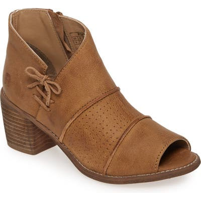 Roan Katherine Open Toe Bootie- Brown