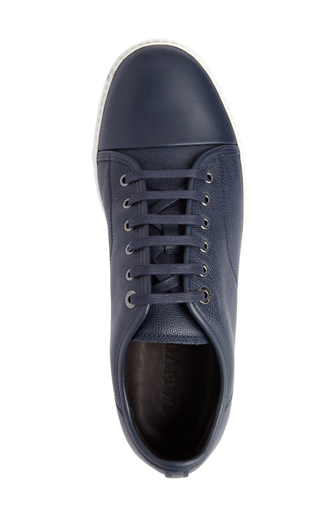 ,                             Shiny Cap Toe Sneaker,                             Alternate thumbnail 13, color,                             424
