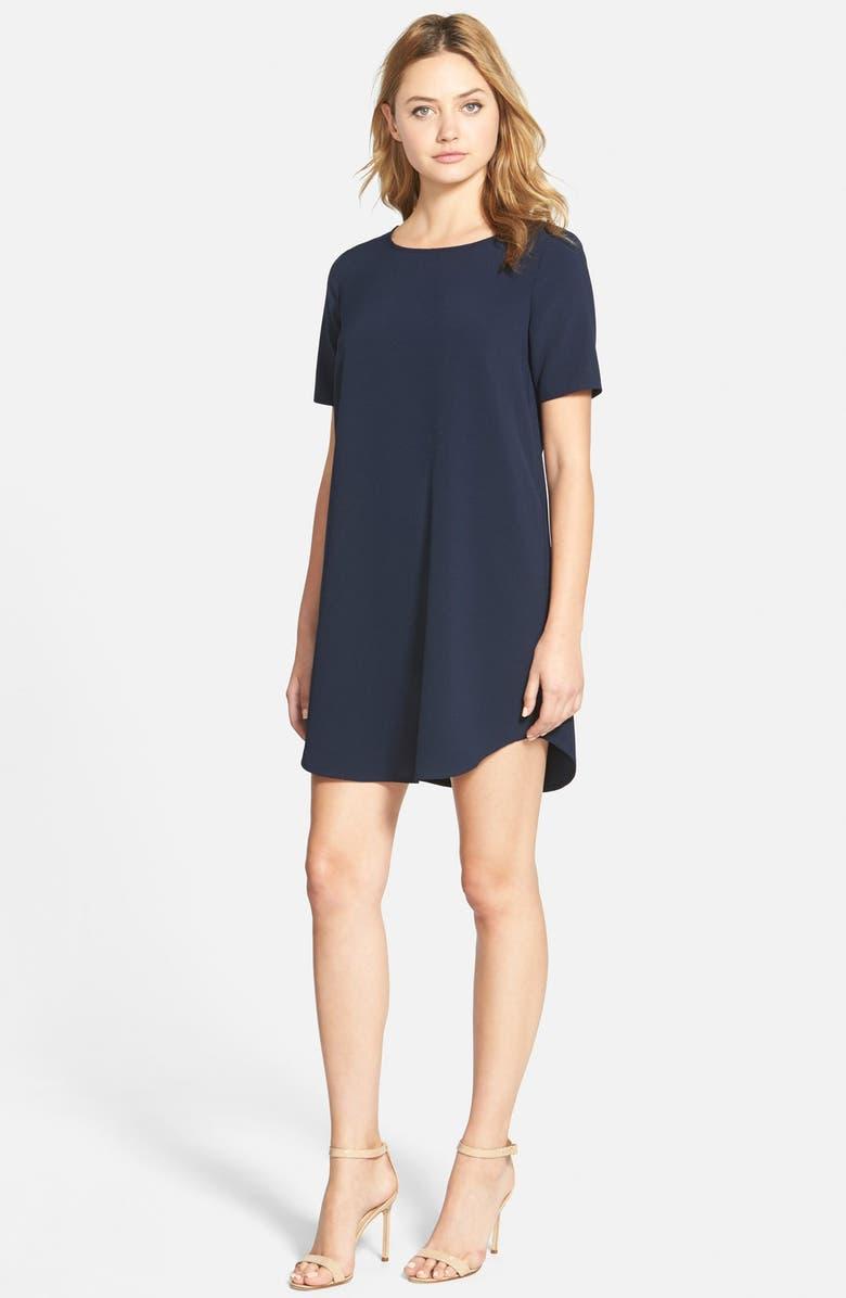 CUPCAKES AND CASHMERE 'Magnolia' Shift Dress, Main, color, 410