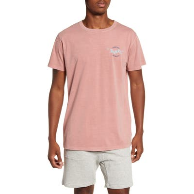 Banks Journal Around Faded T-Shirt, Pink
