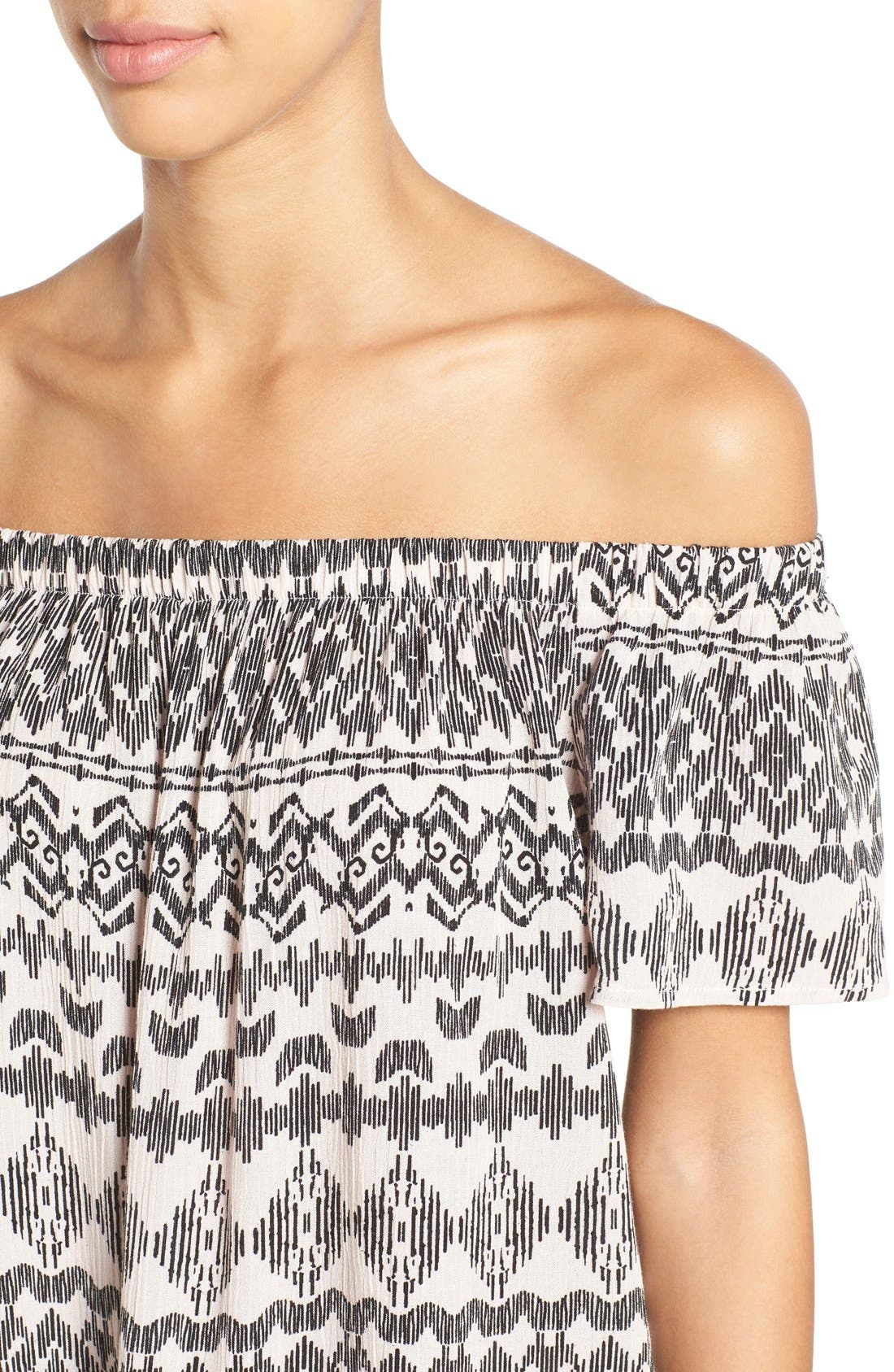 ,                             Off the Shoulder Top,                             Alternate thumbnail 14, color,                             074