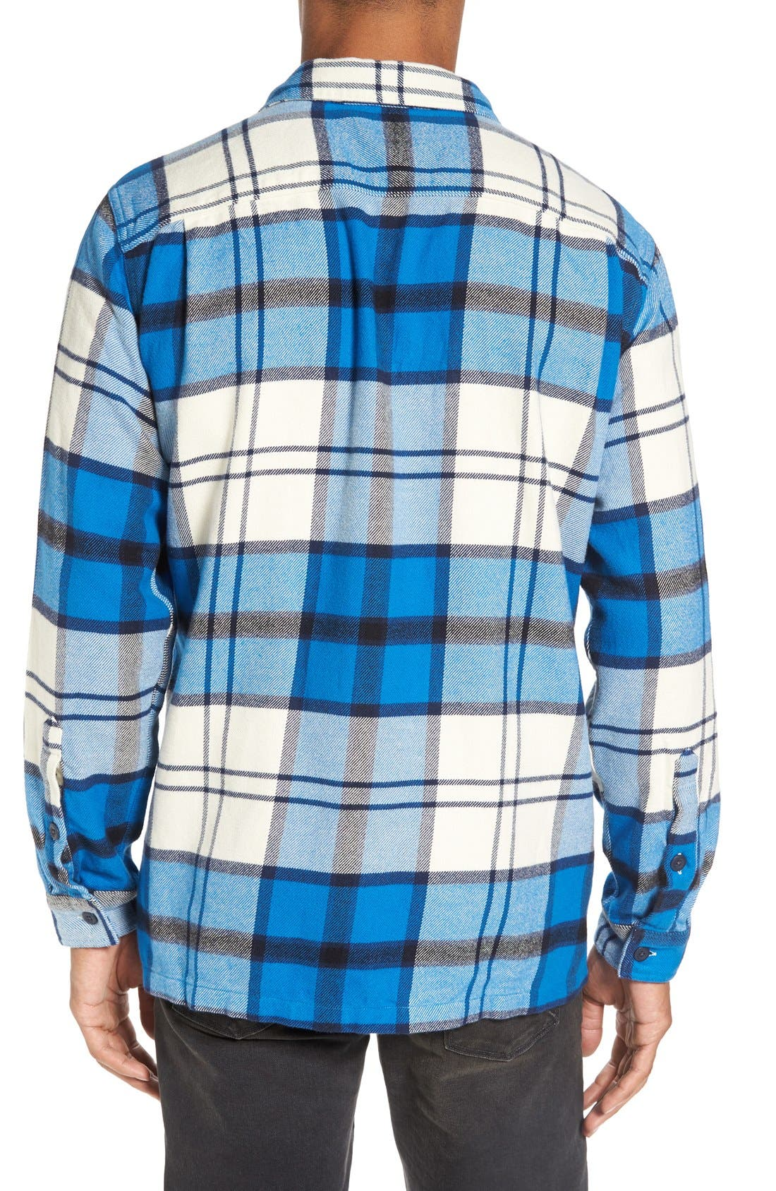 ,                             'Fjord' Regular Fit Organic Cotton Flannel Shirt,                             Alternate thumbnail 114, color,                             407