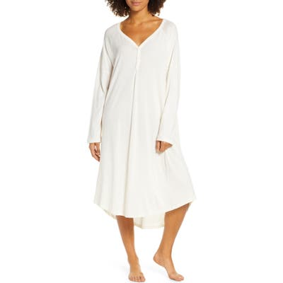 The Great. The Nightshirt Long Nightgown, White