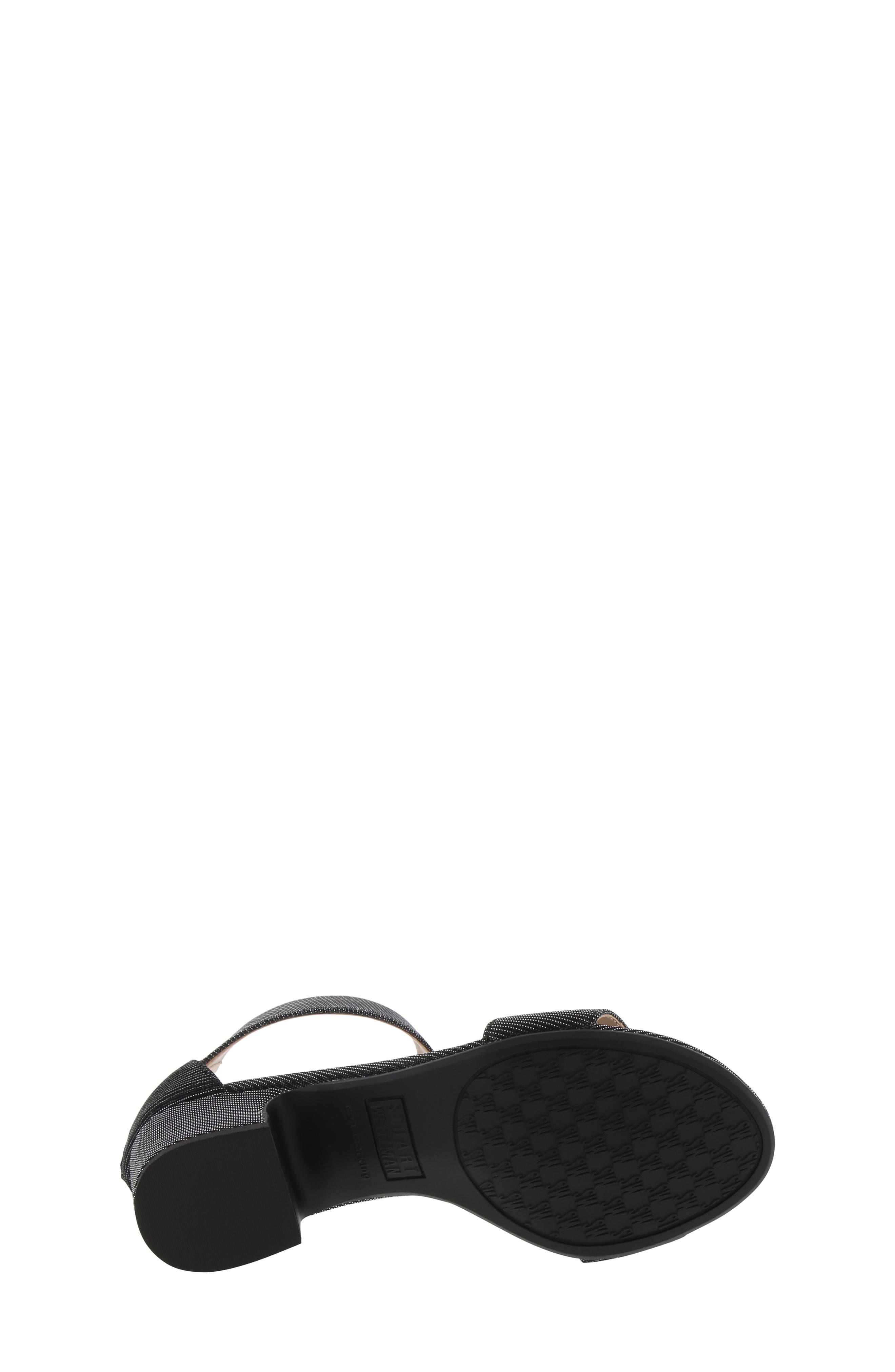,                             Rosalyn Alexa Sparkle Sandal,                             Alternate thumbnail 6, color,                             BLACK