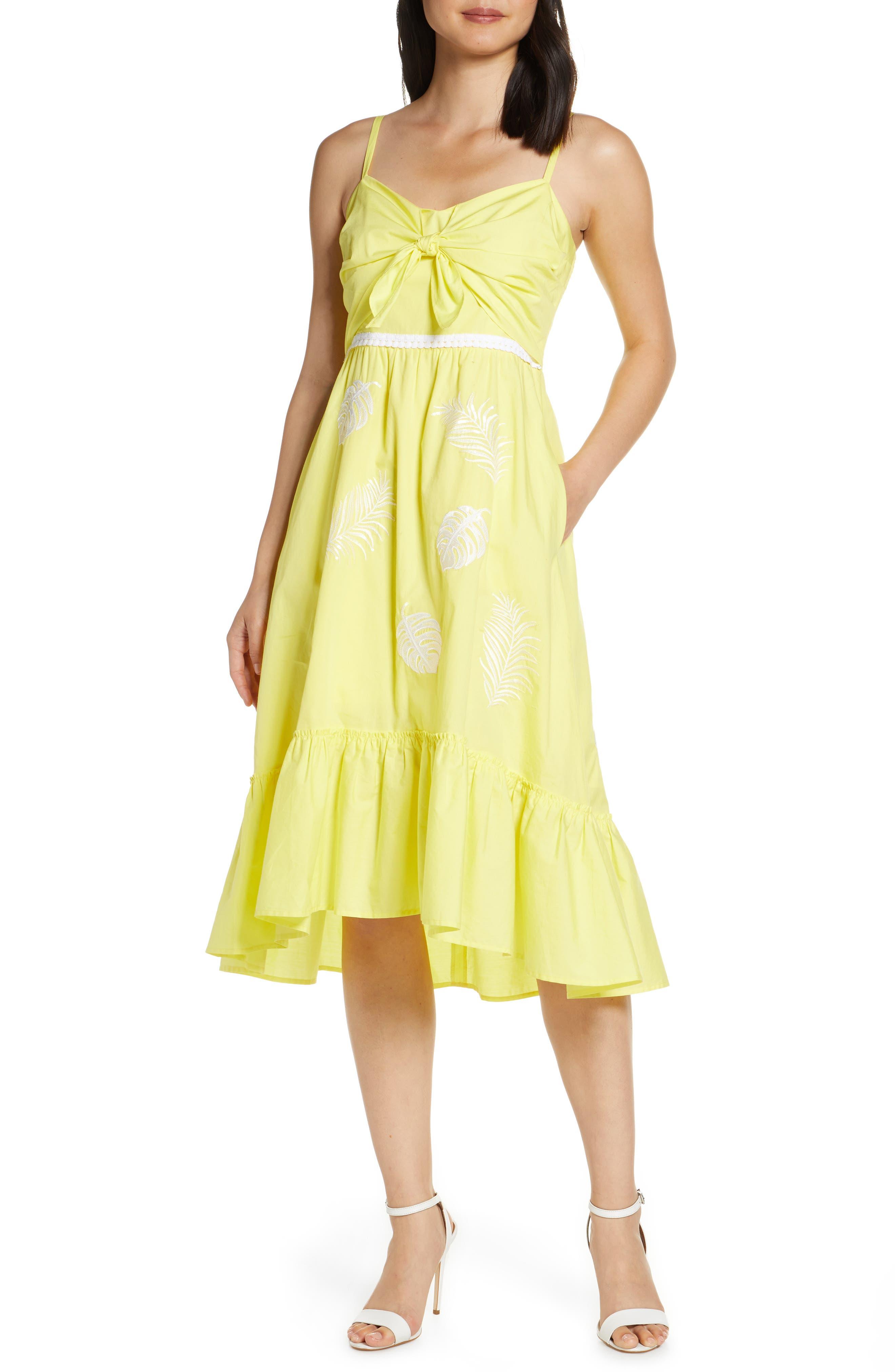 Lilly Pulitzer Eloisa High/low Midi Sundress, Yellow