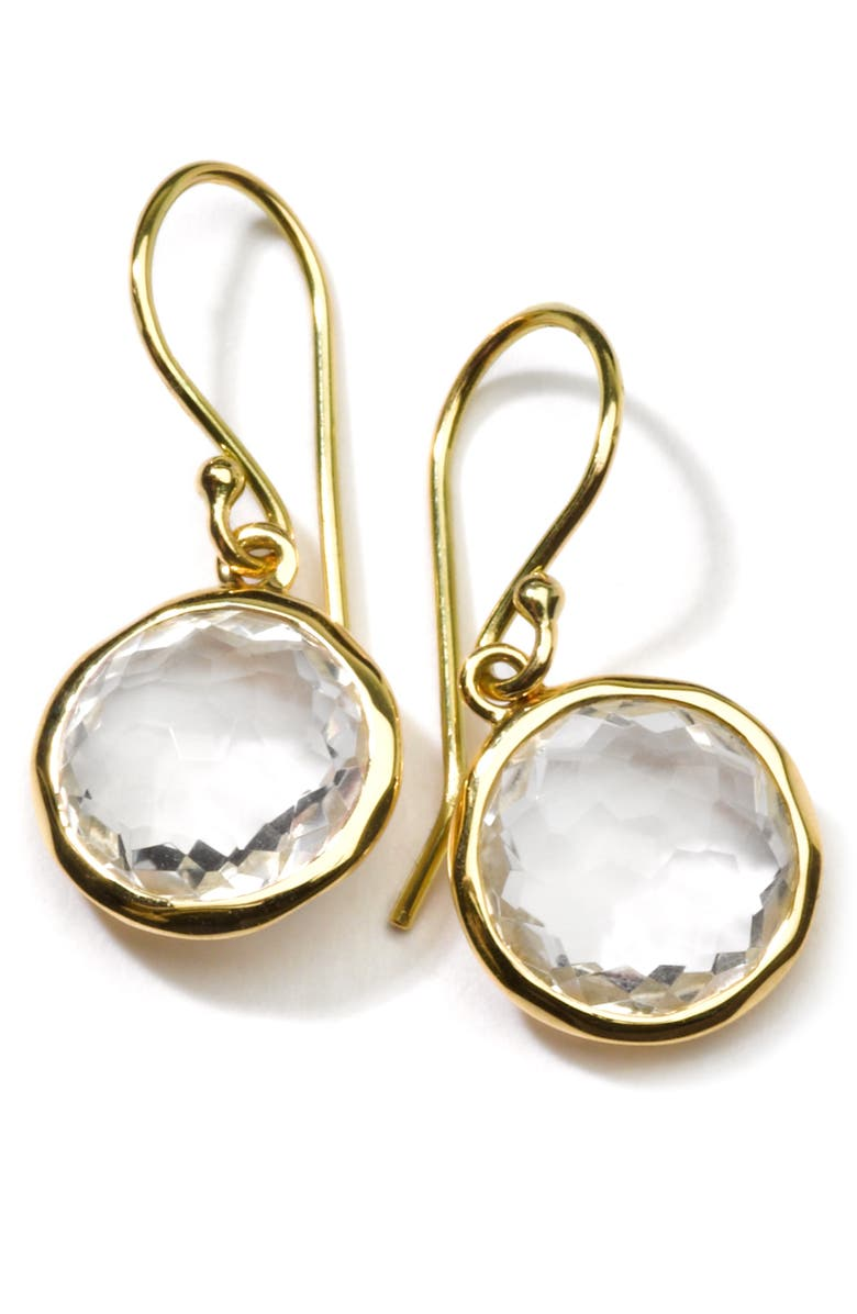 IPPOLITA 'Rock Candy - Mini Lollipop' 18k Gold Drop Earrings, Main, color, 711