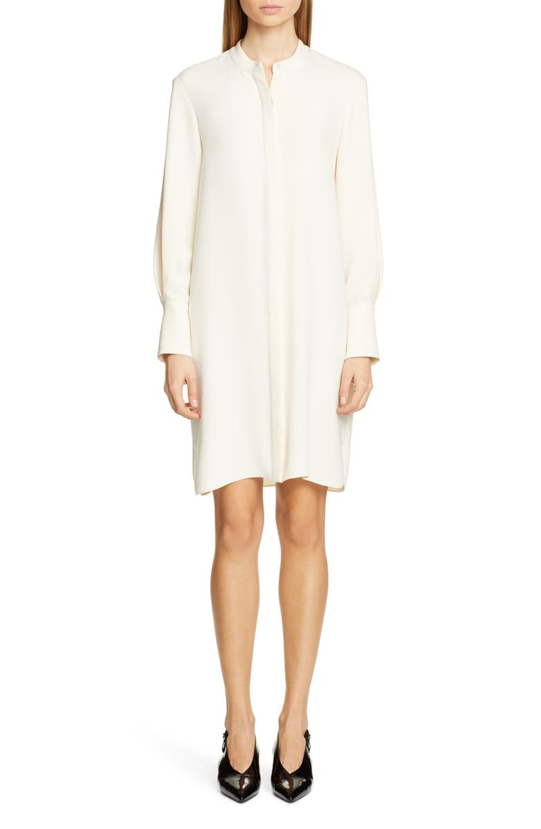 PARTOW Roz Long Sleeve Dress, Main, color, IVORY
