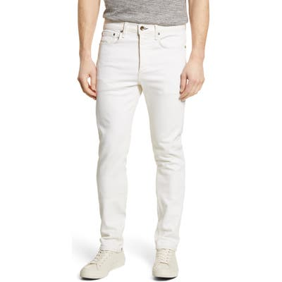 Rag & Bone Fit 2 Slim Fit Jeans White