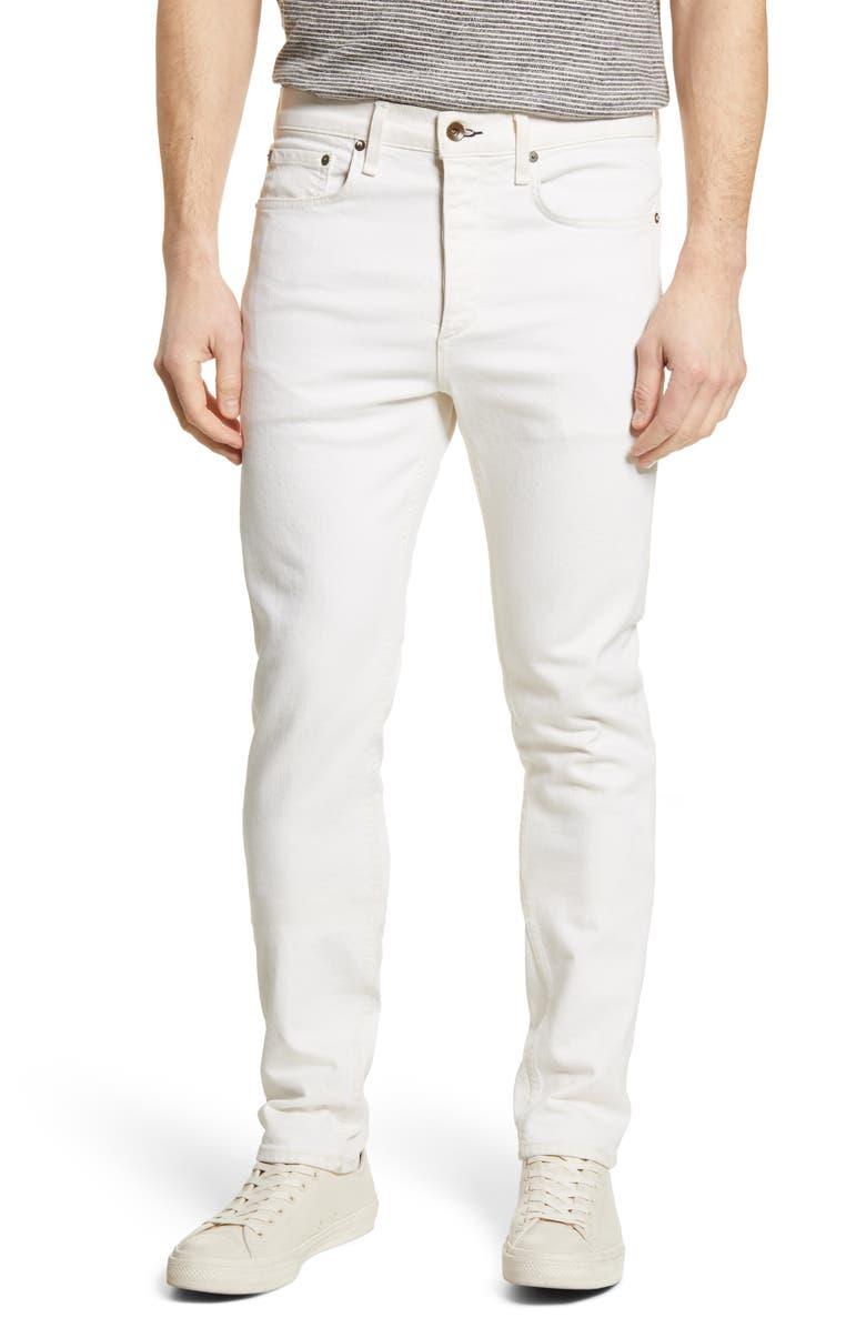 RAG & BONE Fit 2 Slim Fit Jeans, Main, color, ECRU