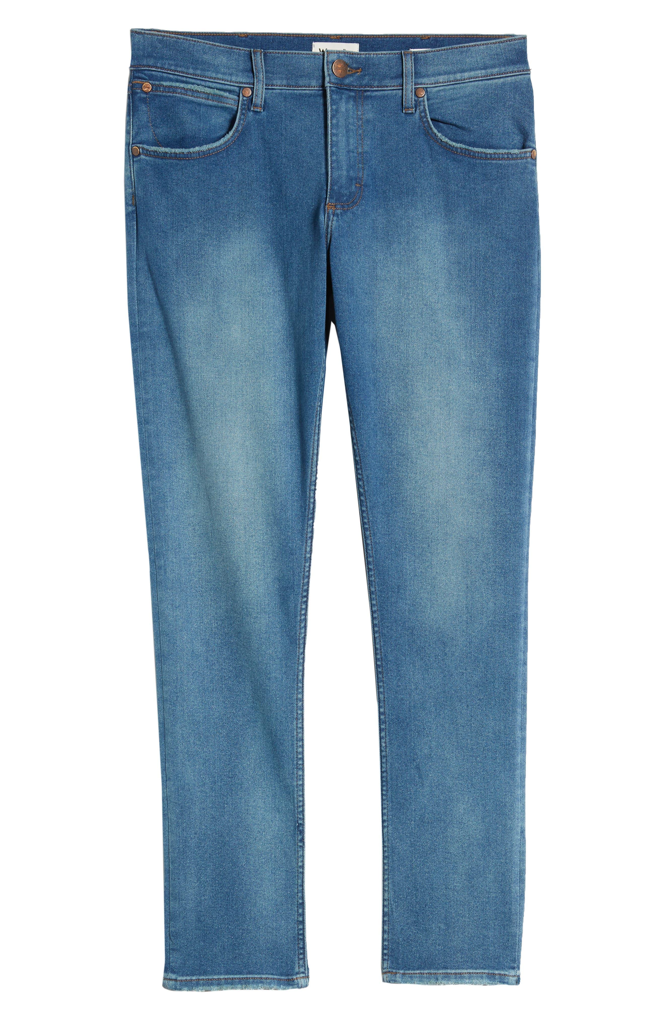 ,                             Larston Slim Fit Jeans,                             Alternate thumbnail 7, color,                             BERMUDA BLUE