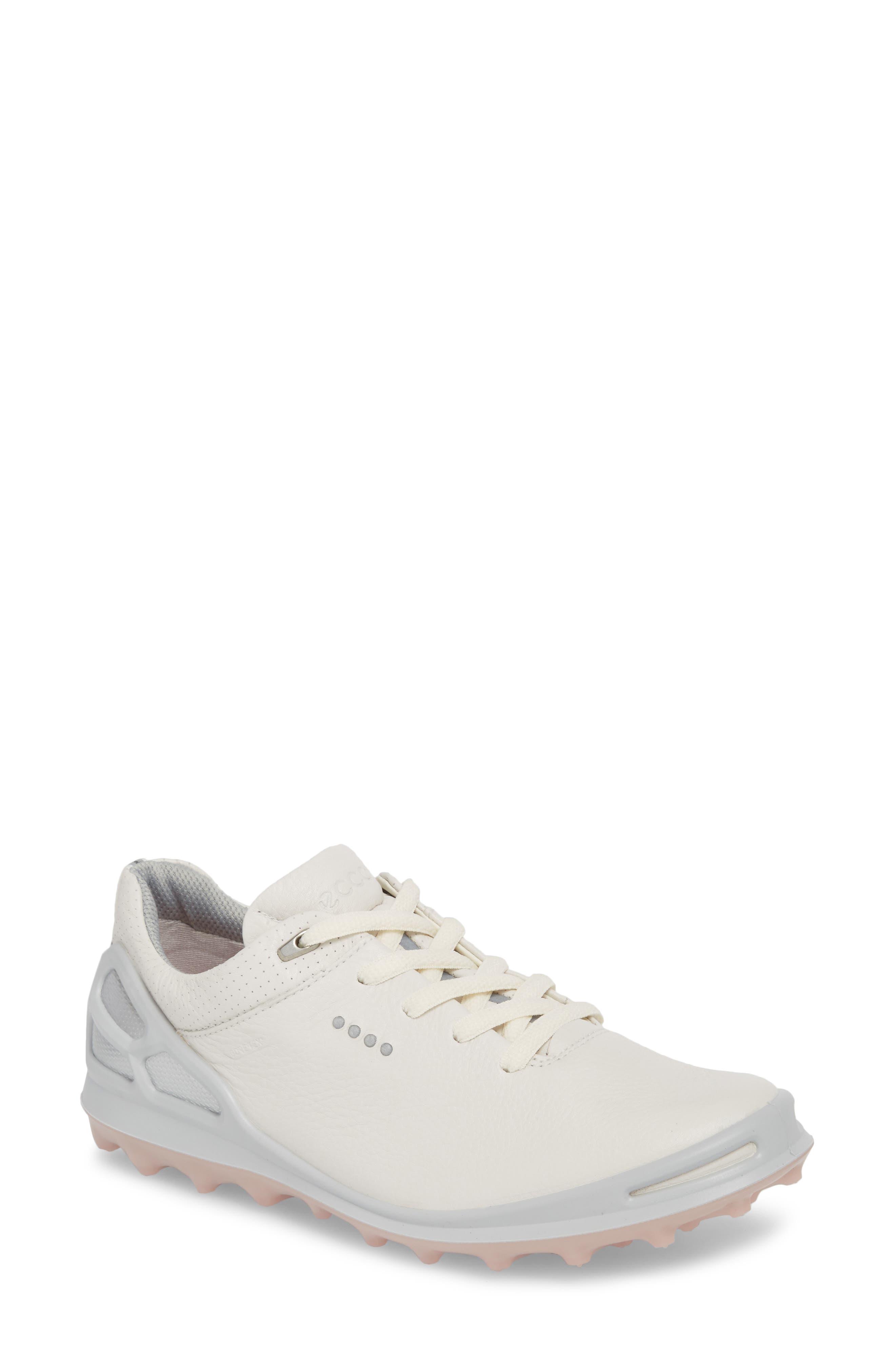 Ecco Golf Cage Pro Gore-Tex Waterproof Shoe, White