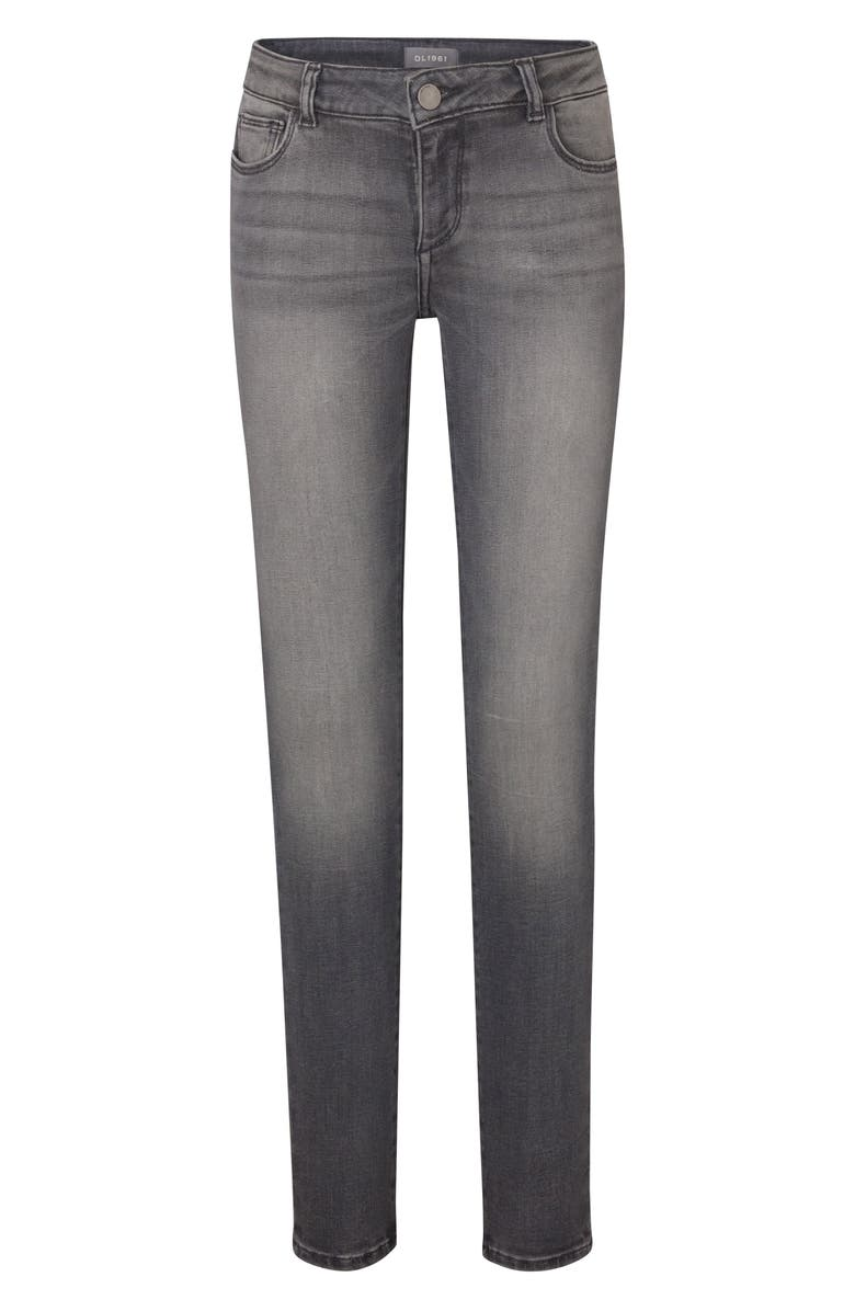 DL1961 Ankle Skinny Jeans, Main, color, DRIZZLE