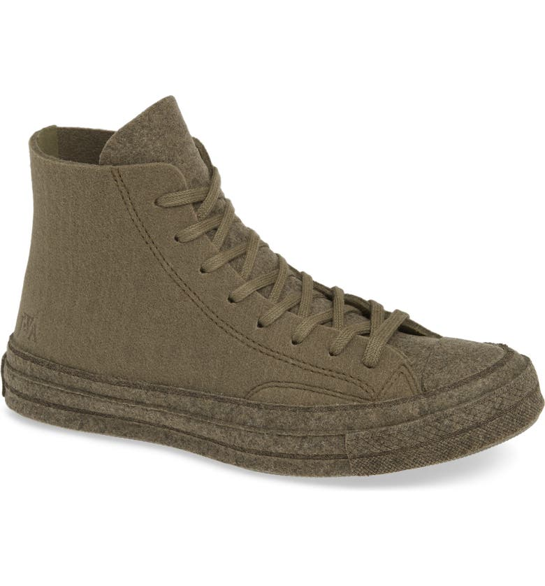 X Jw Anderson Felt Chuck 70 High Top Shoe