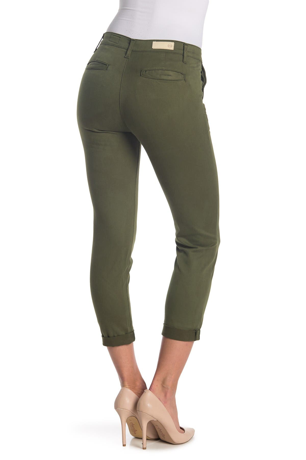 Image of AG Caden Straight Crop Jeans