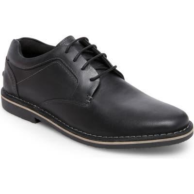 Steve Madden Harver Plain Toe Derby- Black