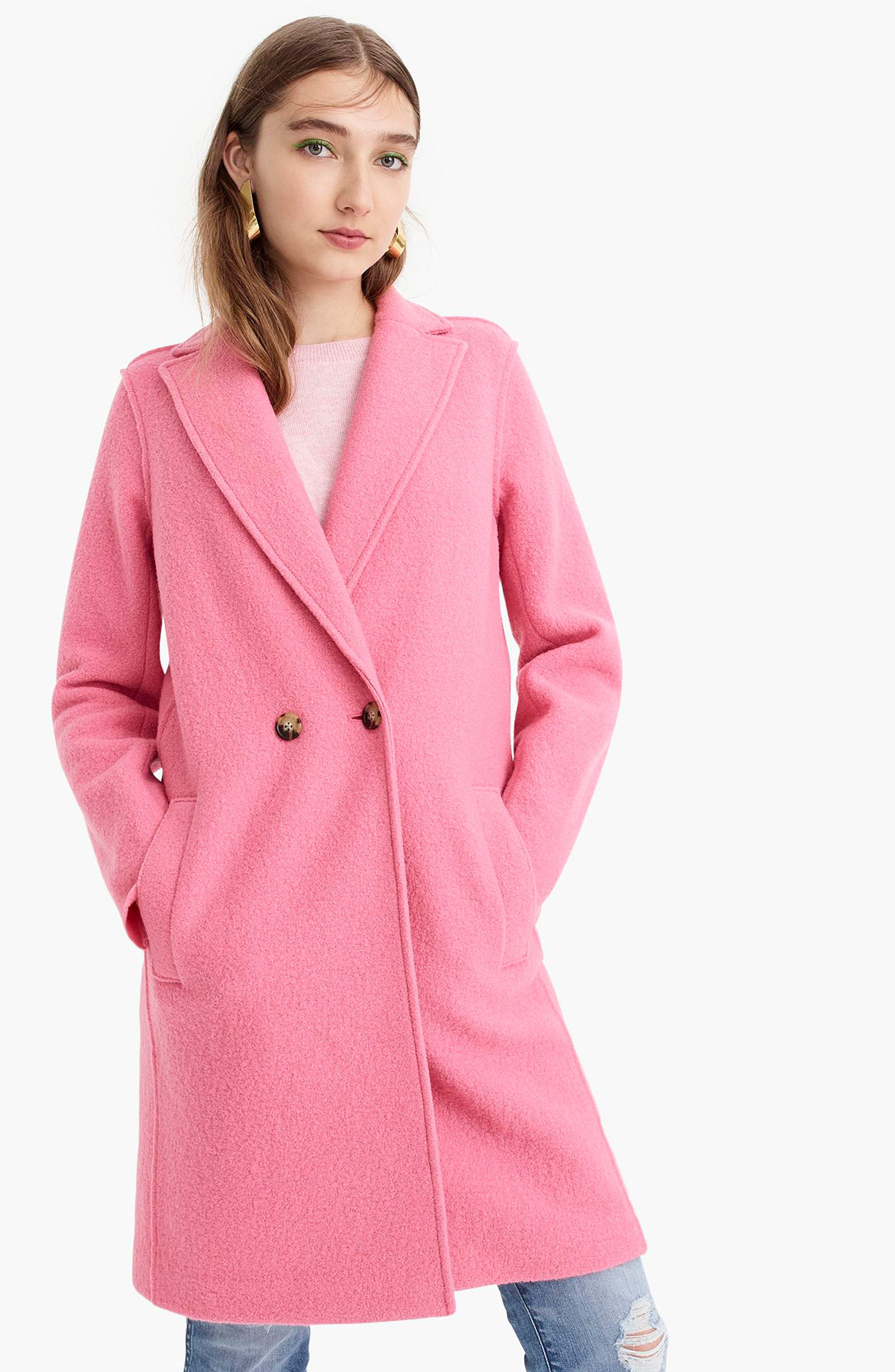 ,                             Daphne Boiled Wool Topcoat,                             Alternate thumbnail 52, color,                             650