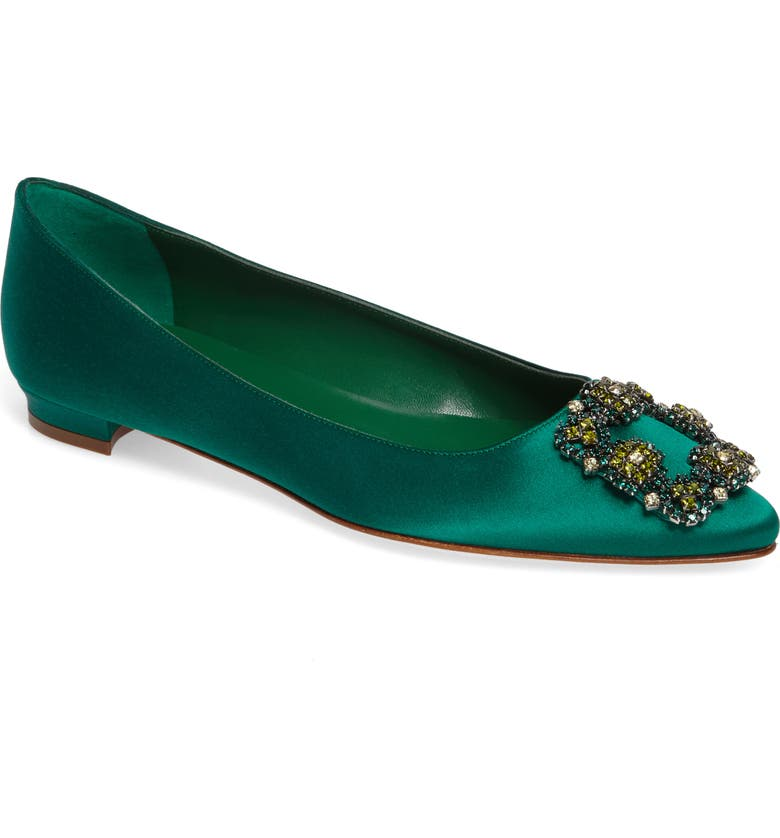 MANOLO BLAHNIK Hangisi Flat, Main, color, 300