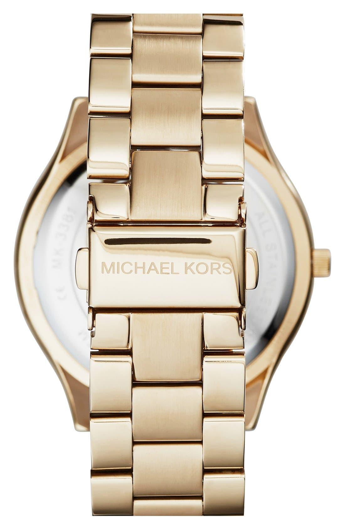,                             'Slim Runway' Bracelet Watch, 42mm,                             Alternate thumbnail 65, color,                             717