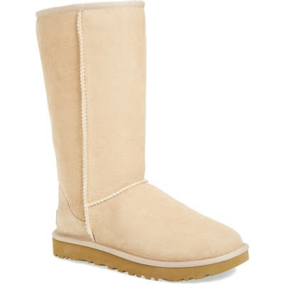 Ugg Classic Ii Genuine Shearling Lined Tall Boot, Beige