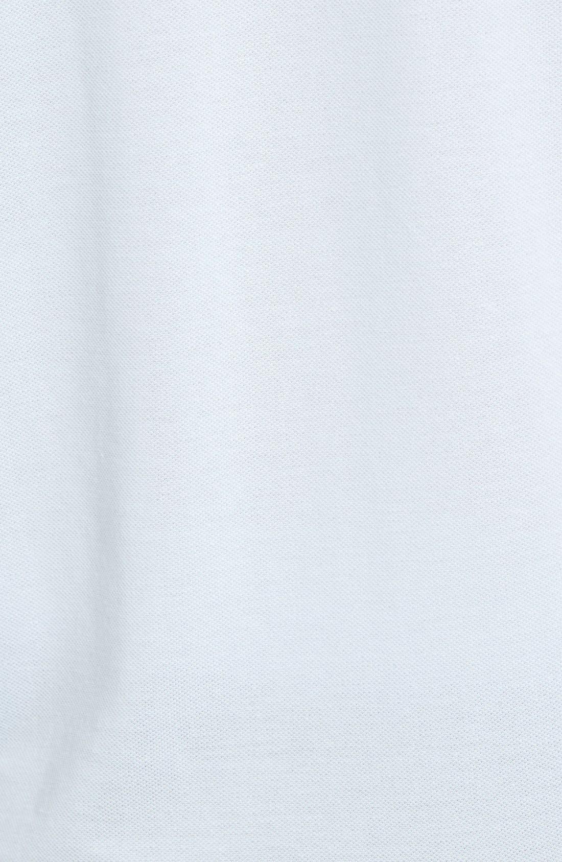 ,                             Slim Fit Piqué Polo,                             Alternate thumbnail 5, color,                             RILL LIGHT BLUE