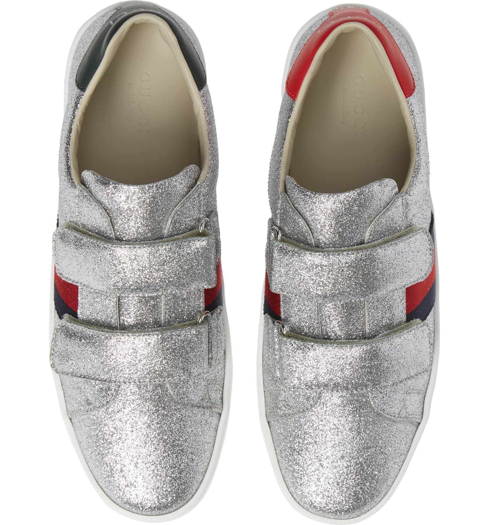 0982650c76f Gucci New Ace Sneaker (Baby, Walker, Toddler & Little Kid) | Nordstrom