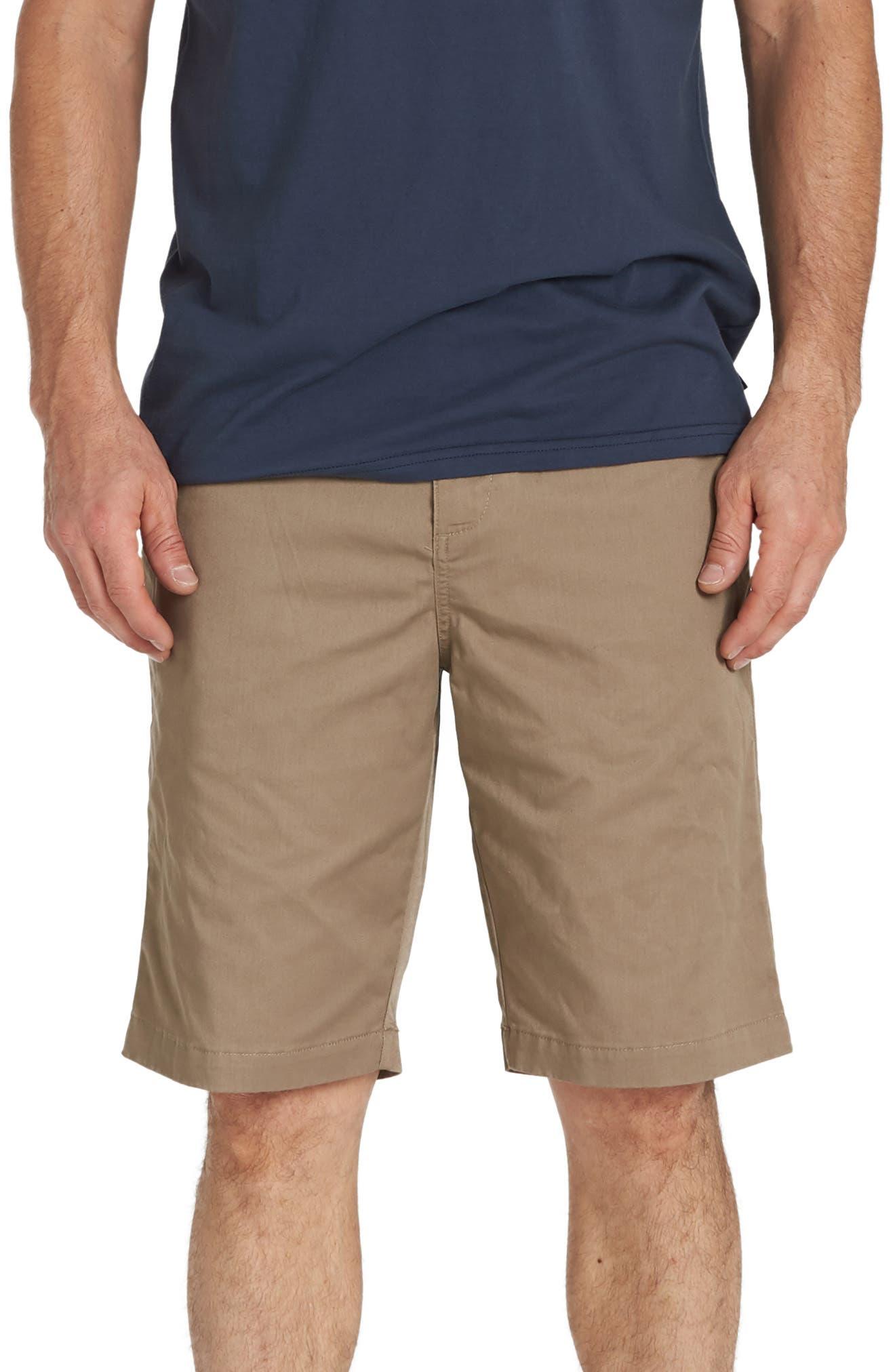86c2b46963 Billabong Carter Stretch Twill Shorts, Brown