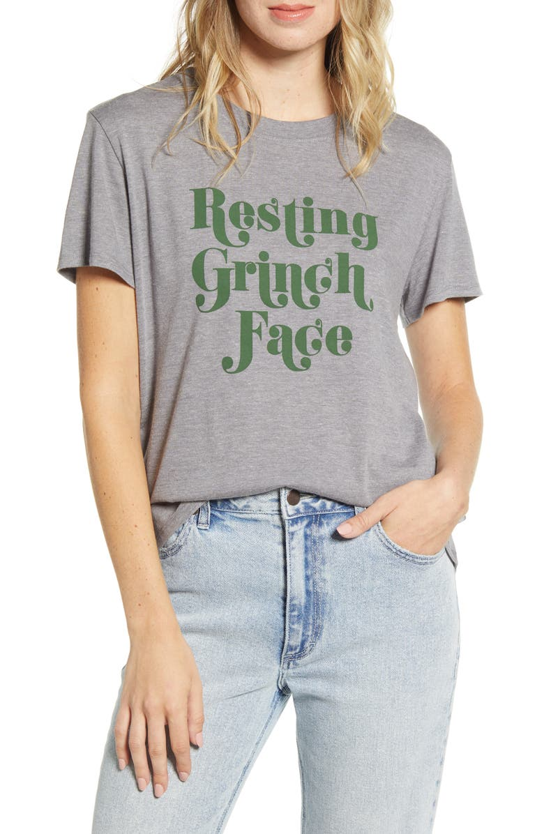 SUB_URBAN RIOT Resting Grinch Face Tee, Main, color, 020