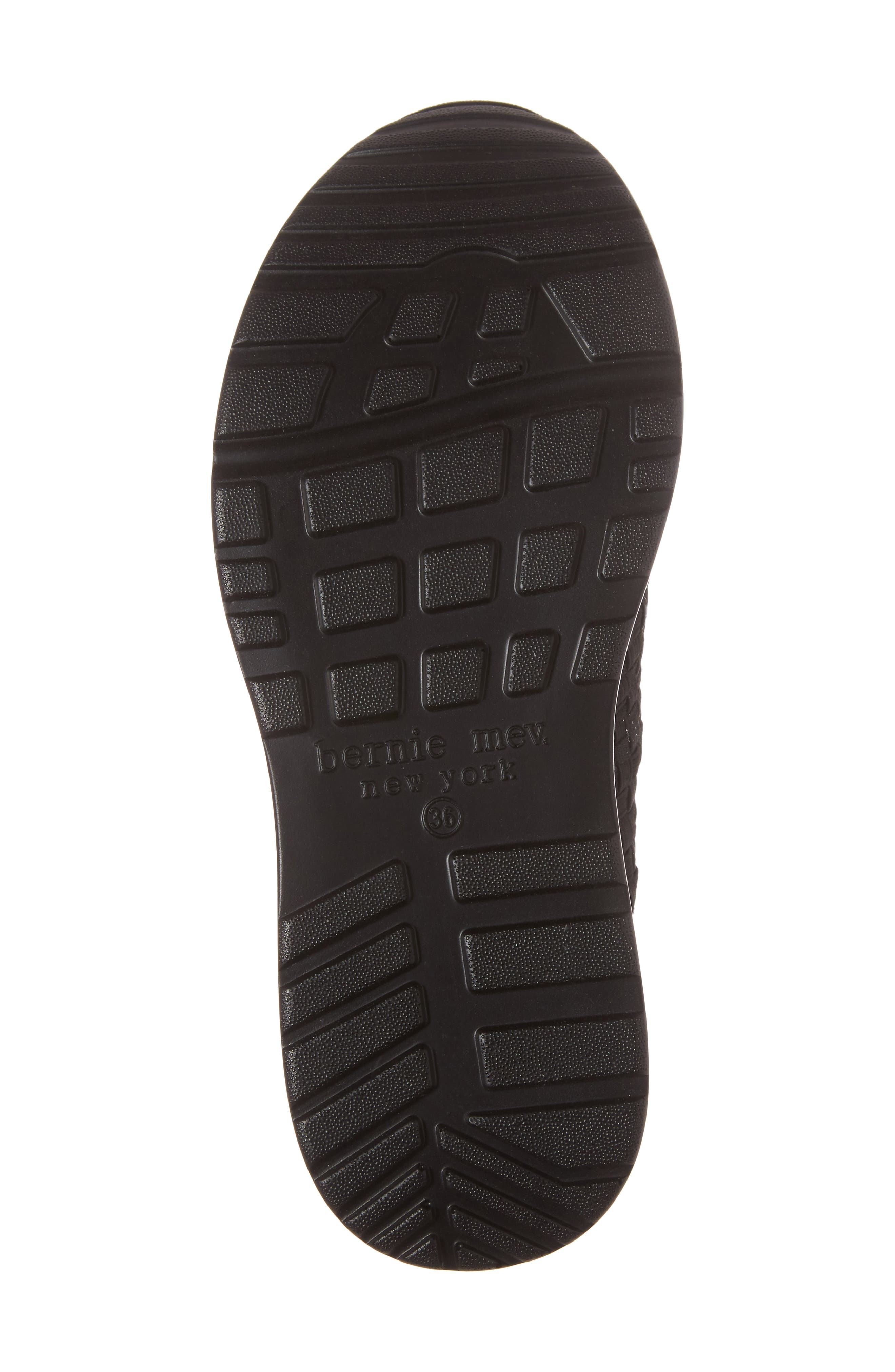 ,                             Best Charm Mary Jane Sneaker,                             Alternate thumbnail 6, color,                             BLACK FABRIC