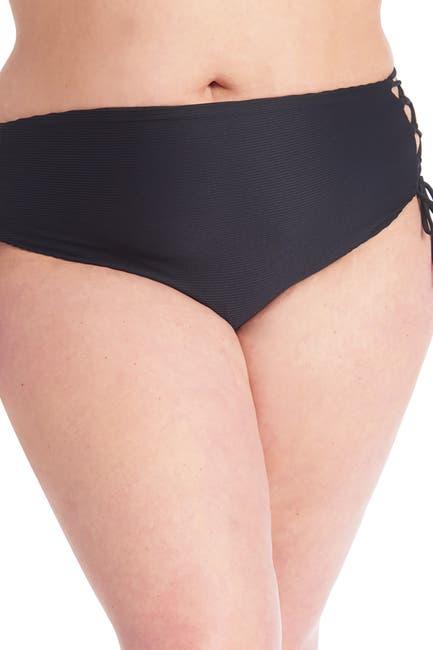 Image of RACHEL Rachel Roy Side Lace-Up Bikini Bottoms