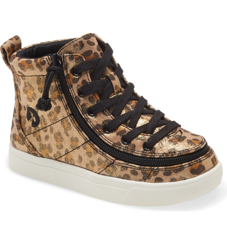 BILLY FOOTWEAR Classic Hi-Rise Sneaker, Main, color, LEOPARD SHIMMER