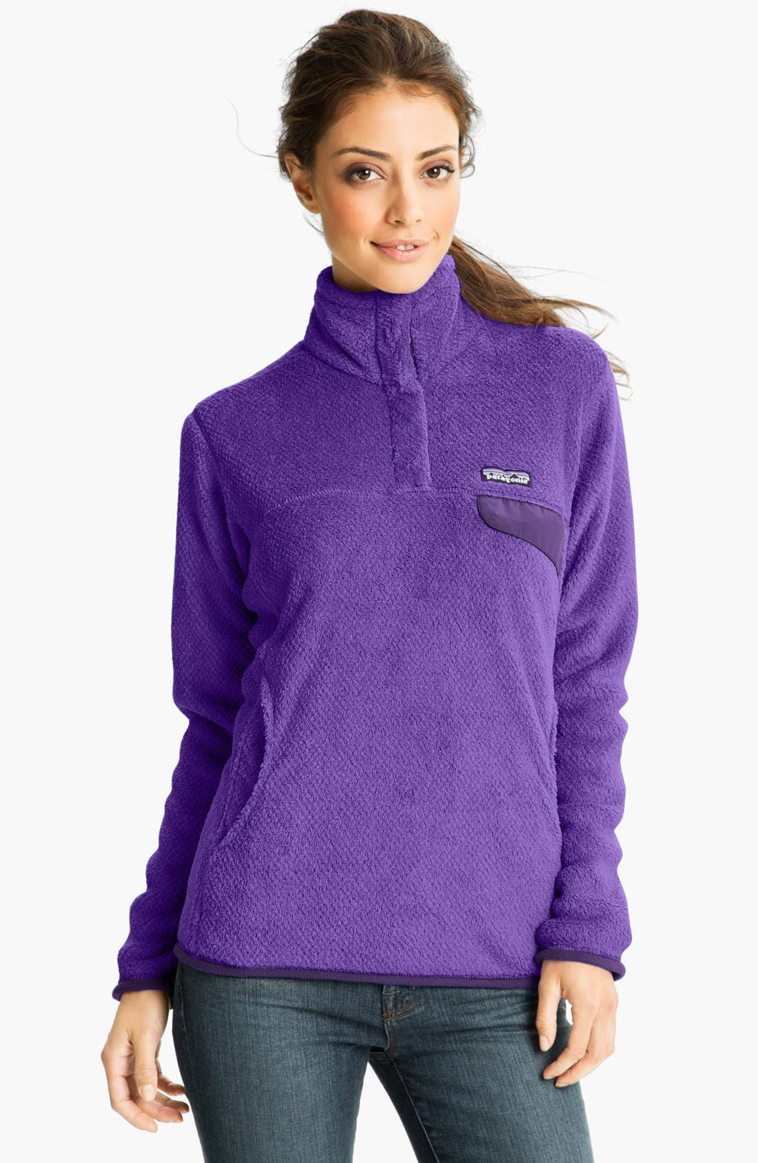 ,                             Re-Tool Snap-T<sup>®</sup> Fleece Pullover,                             Main thumbnail 160, color,                             501