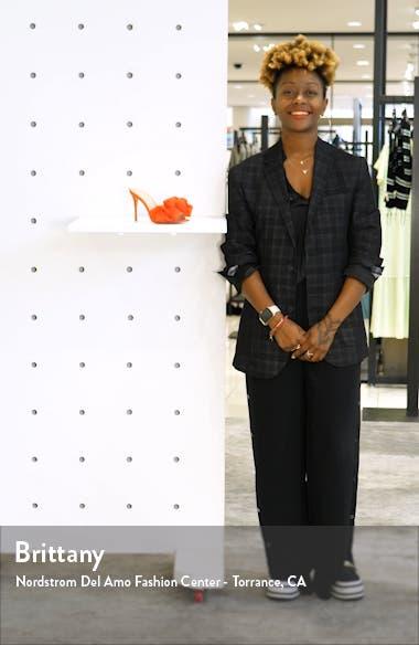 Ruffle Dress Slide Sandal, sales video thumbnail