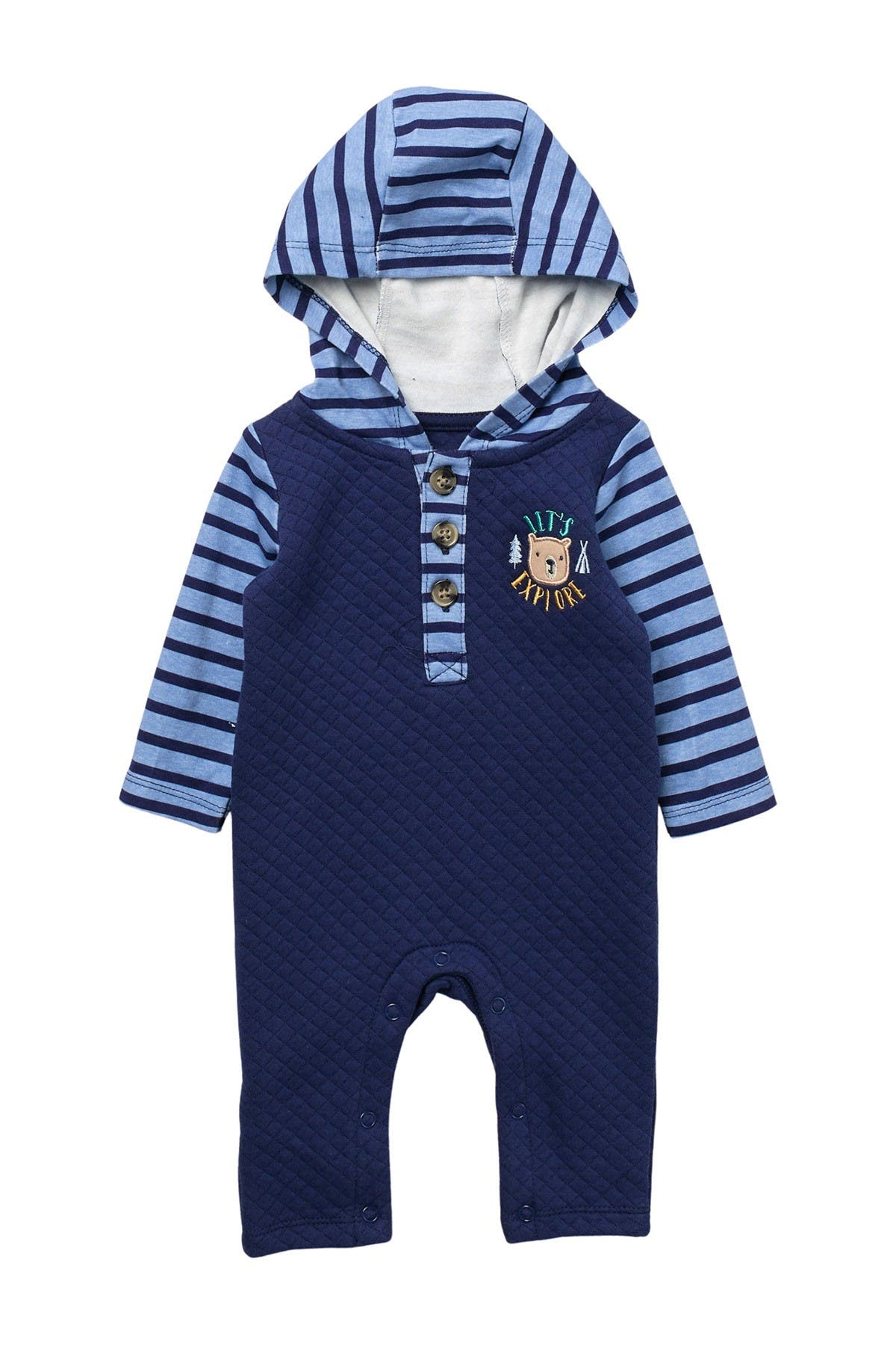 Image of Baby Starters Explore Hooded Coverall