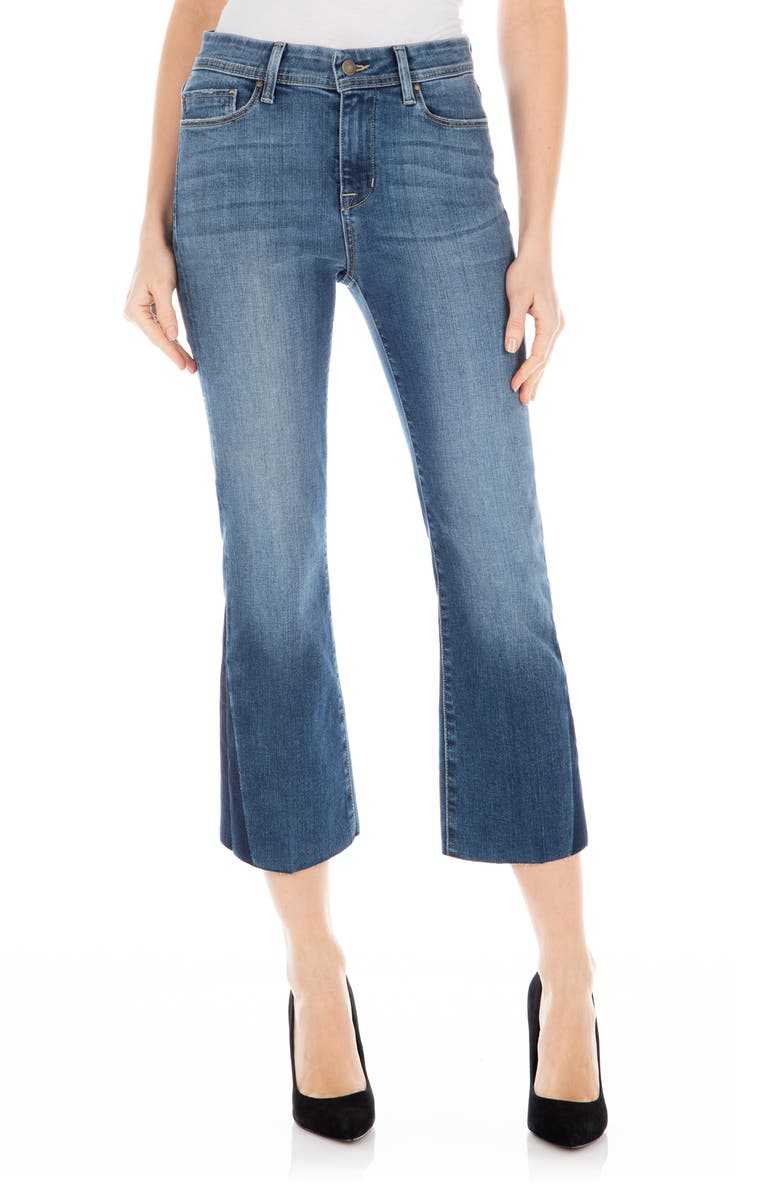 FIDELITY DENIM Hayden Crop Flare Jeans, Main, color, CORTEZ