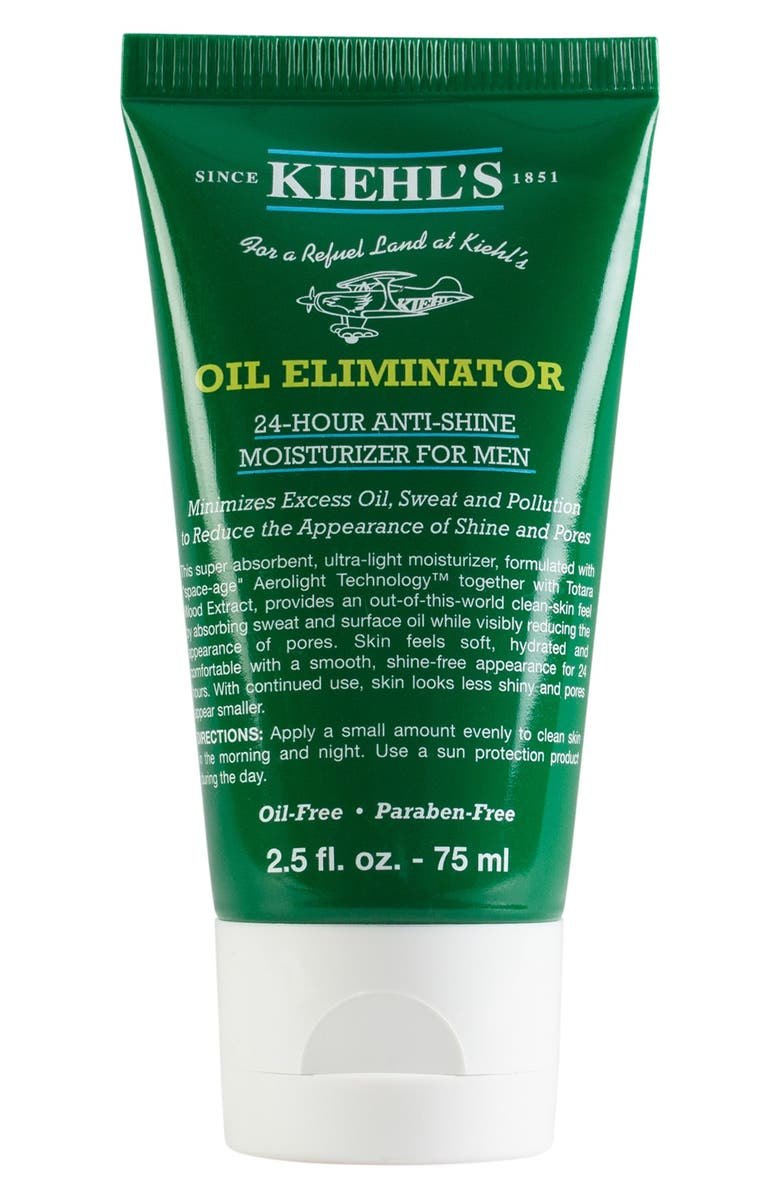 KIEHL'S SINCE 1851 'Oil Eliminator' 24-Hour Anti-Shine Moisturizer for Men, Main, color, 000