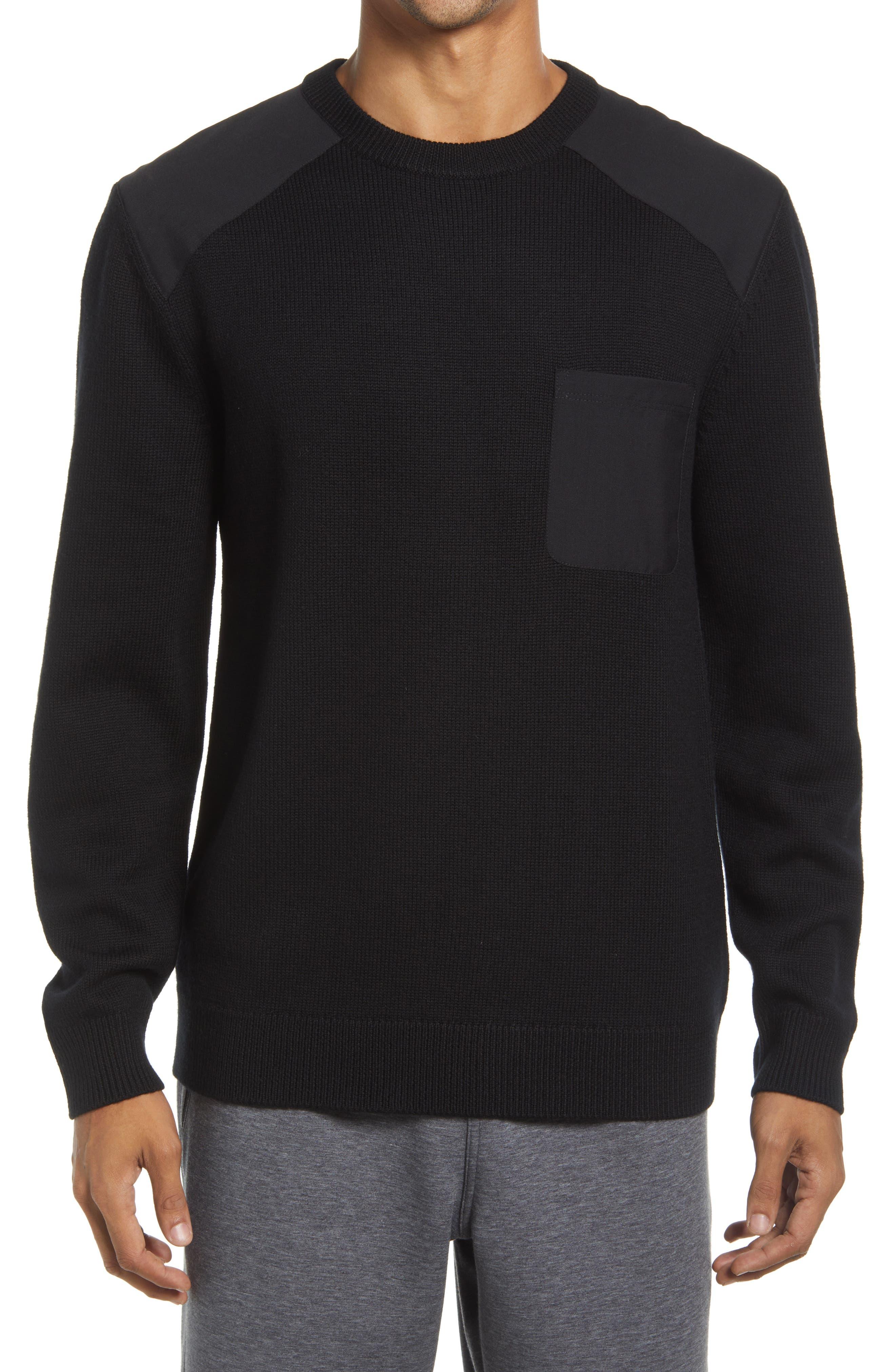Barein Long Sleeve Crewneck Sweater