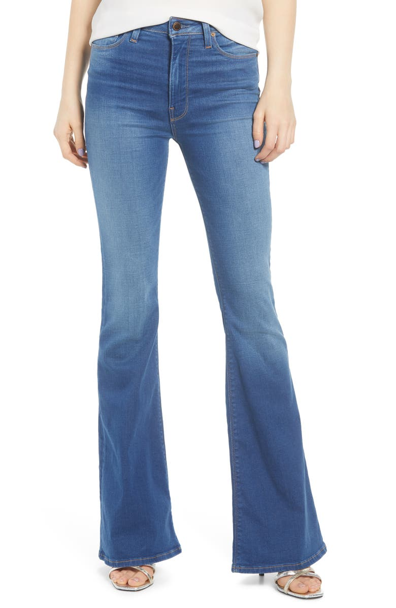 HUDSON JEANS Holly High Waist Flare Jeans, Main, color, TRUTH OR DARE