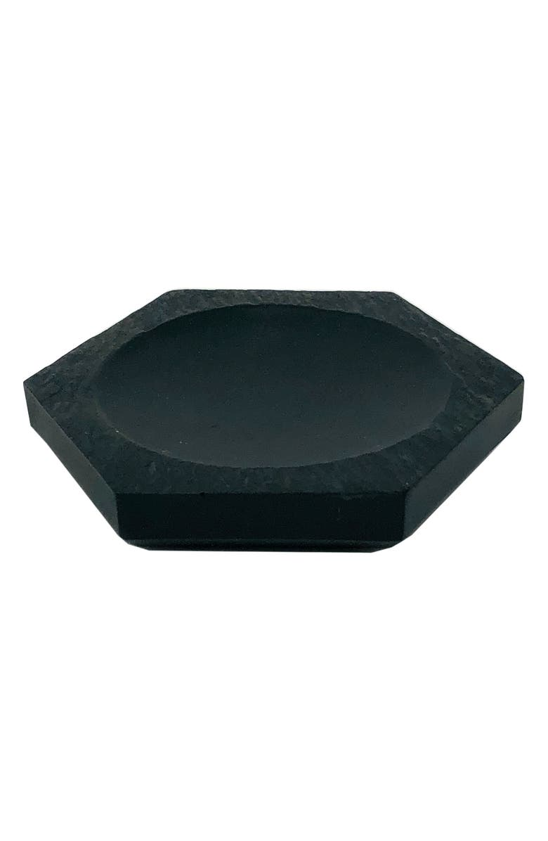 WATERWORKS STUDIO Clair Hexagon Soap Dish, Main, color, 001