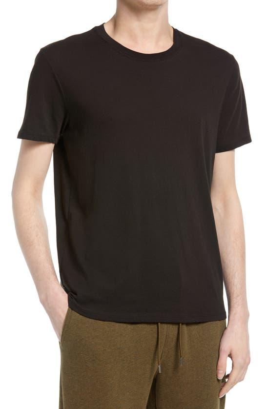 Atm Anthony Thomas Melillo Men's Atm Slub Crew Classic T-shirt In Black