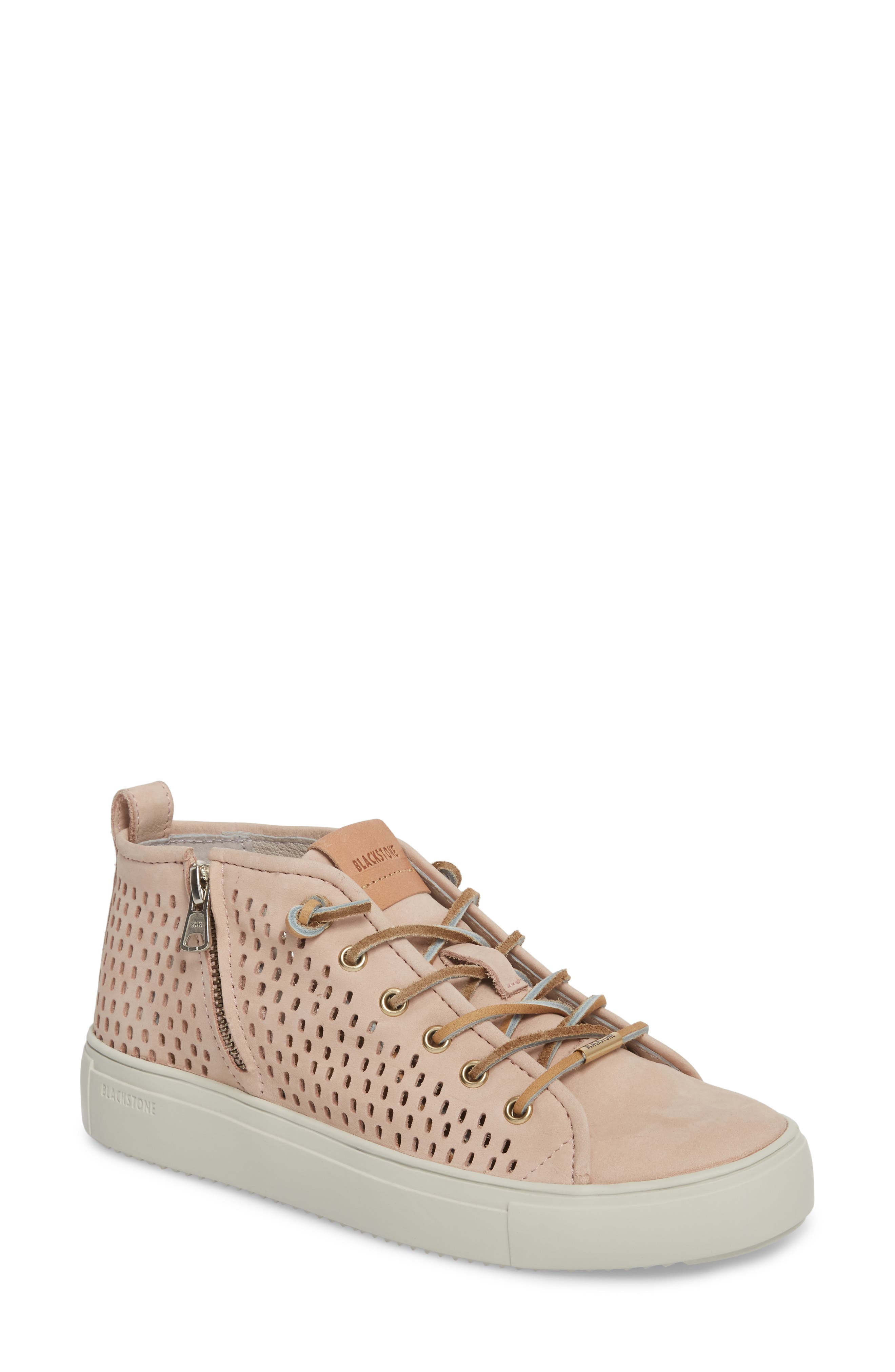 Blackstone Pl88 Zipper Sneaker Pink