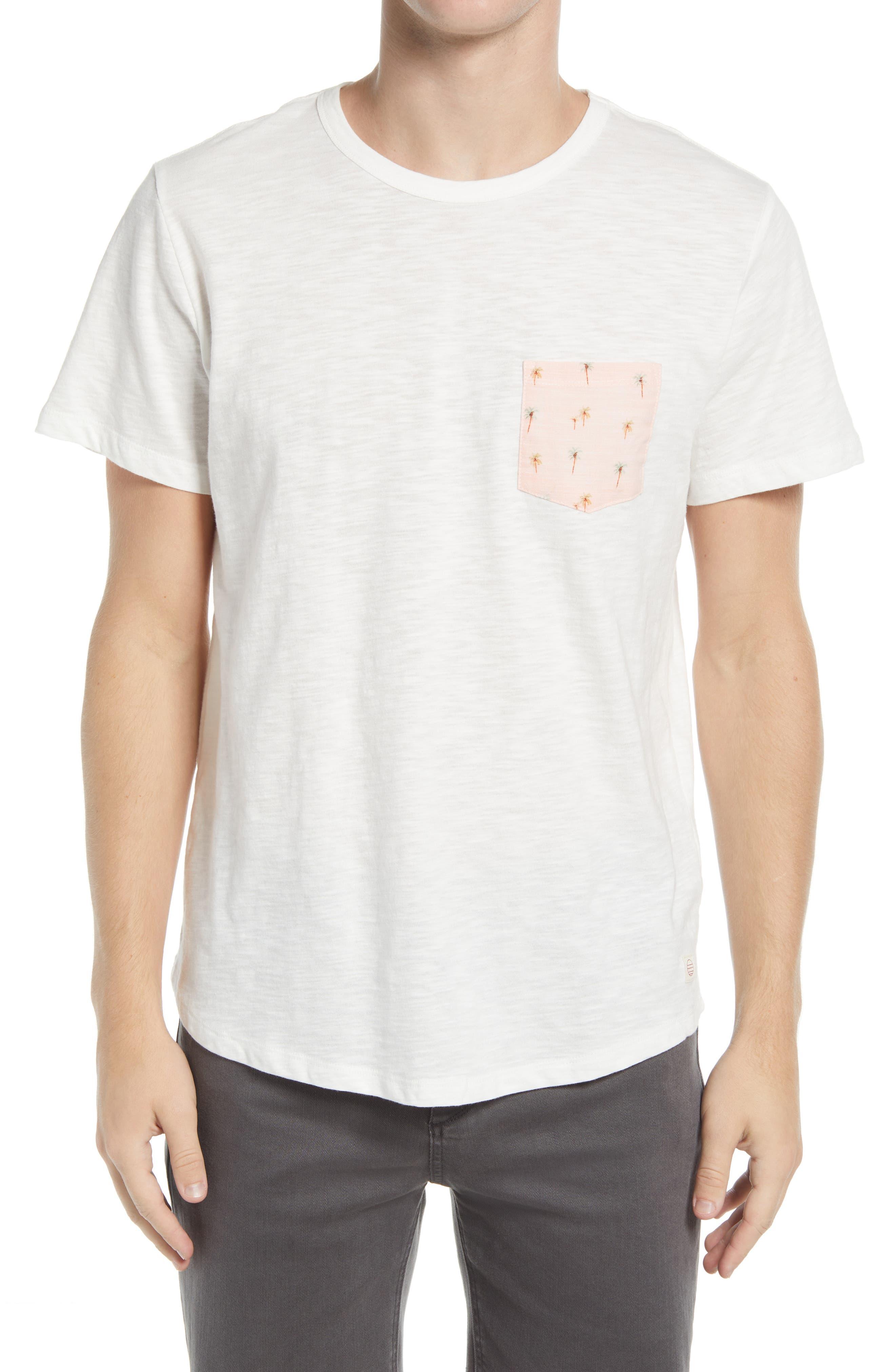 Men's Slub Pocket T-Shirt