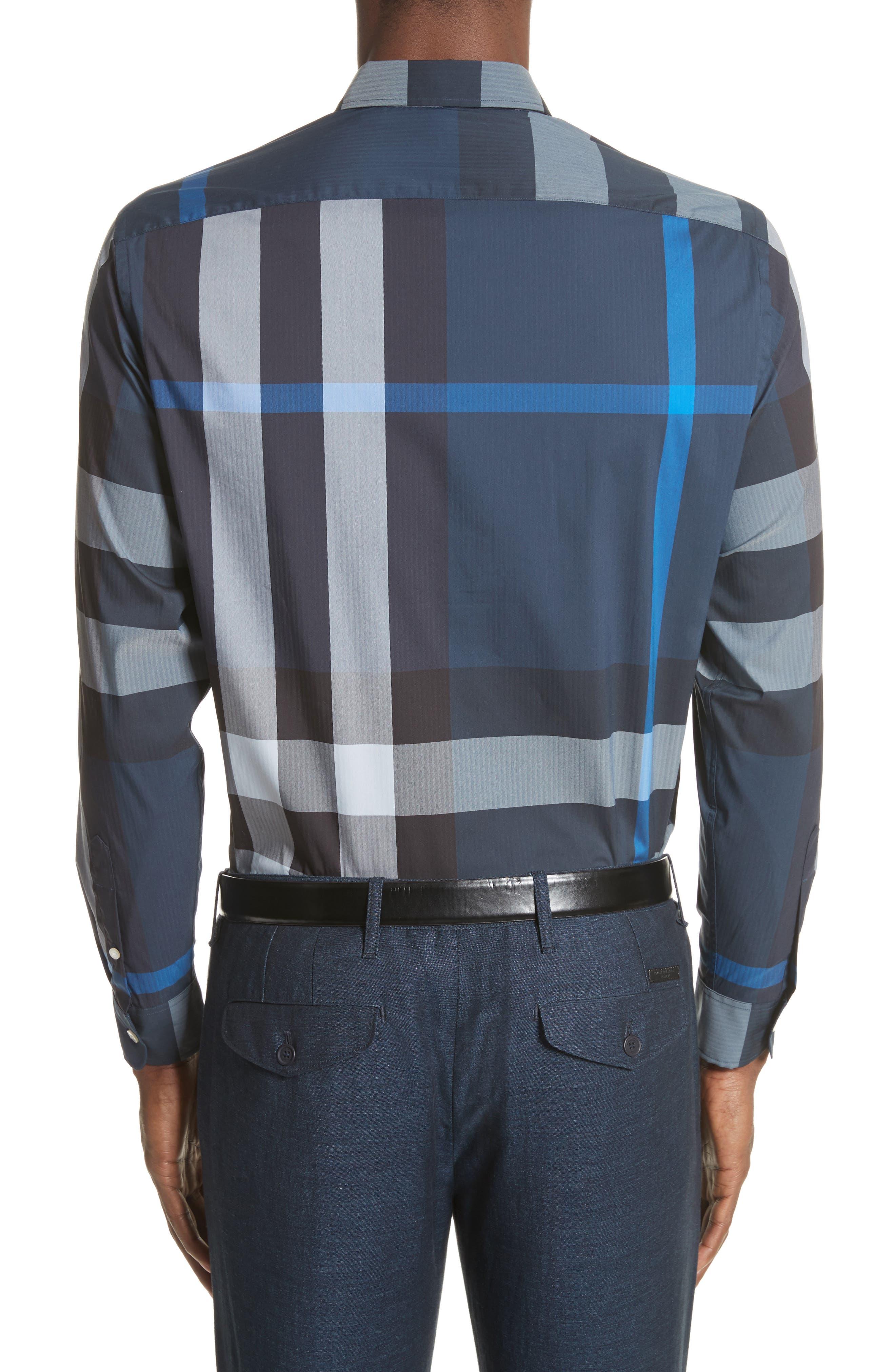 ,                             Thornaby Slim Fit Plaid Sport Shirt,                             Alternate thumbnail 20, color,                             406