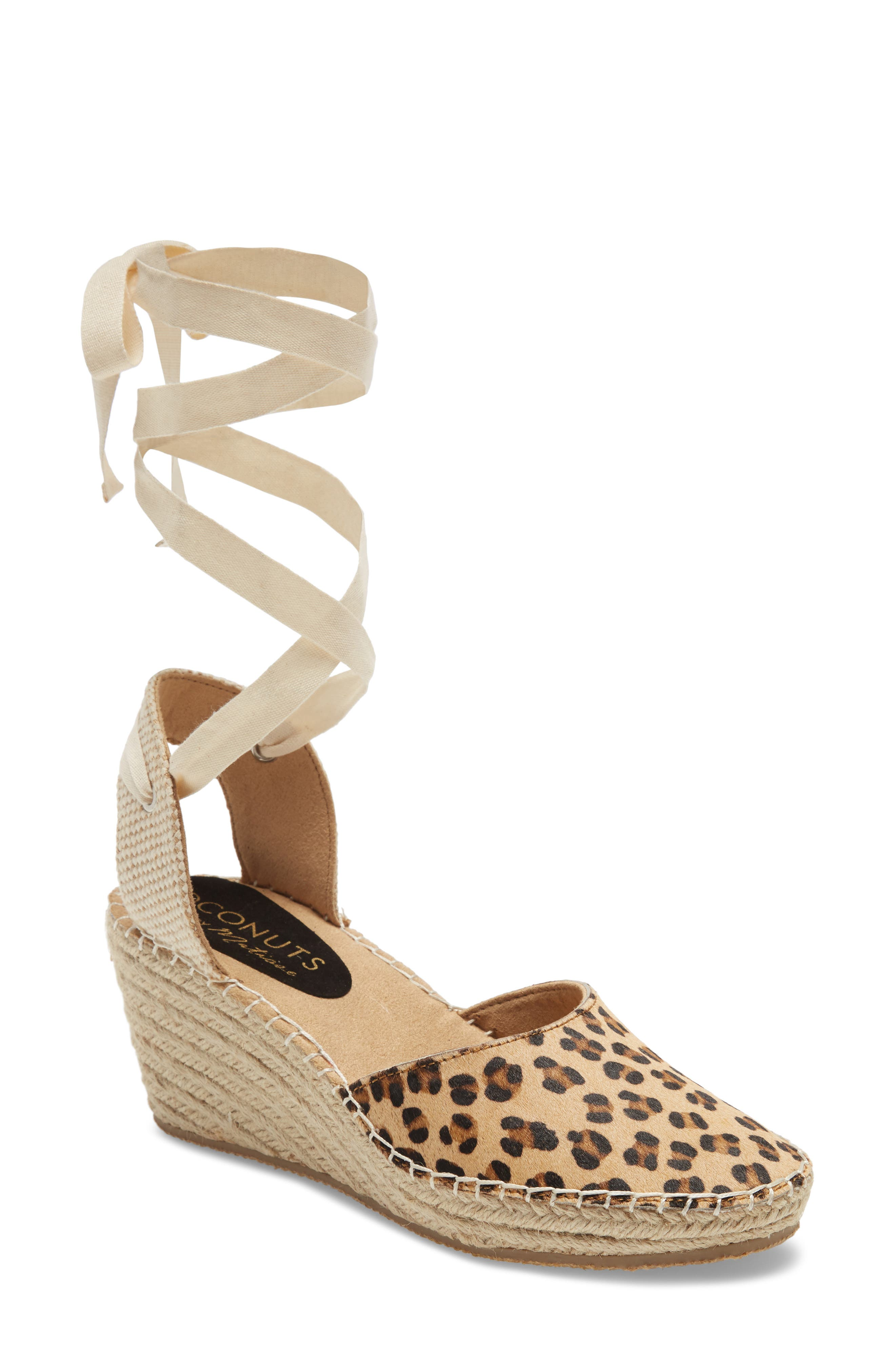 Firefly Lace-Up Wedge Sandal